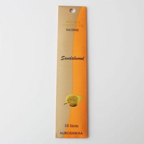 Encens Auroshikha aux huiles essentielles, bois de santal