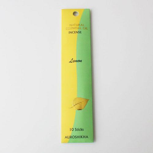 Encens Auroshikha aux huiles essentielles, citron