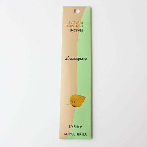 Encens Auroshikha aux huiles essentielles, citronnelle