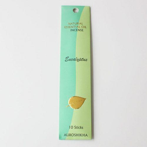 Encens Auroshikha aux huiles essentielles, eucalyptus