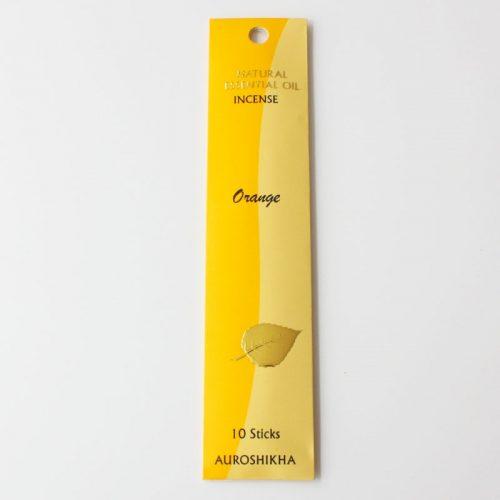Encens Auroshikha aux huiles essentielles, orange
